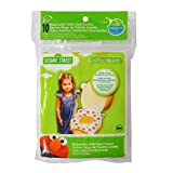 Sesame Street Potty Topper Disposable Stick-in-Place Toilet Seat Covers, 10-Count
