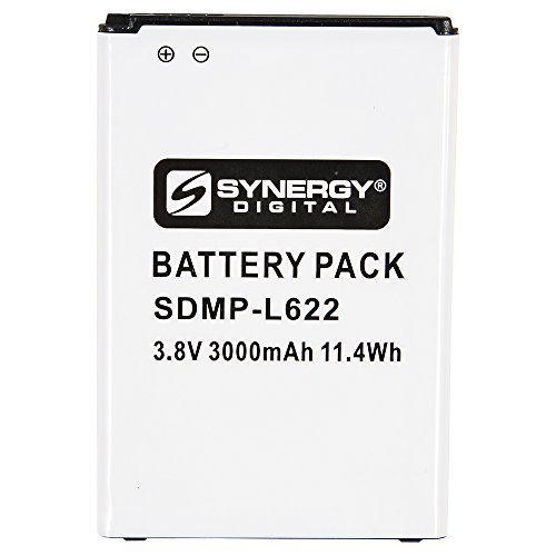 Synergy Digital Cell Phone Battery, Works with LG...