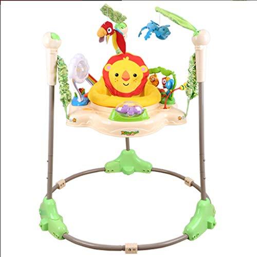 Chaises hautes Parc d'activités Baby Einstein Journey of Discovery Jumper avec lumières Mélodies , Table d'activité for bébé avec 360 sièges b Rebond multifonction for la chaise de saut for bébé A+
