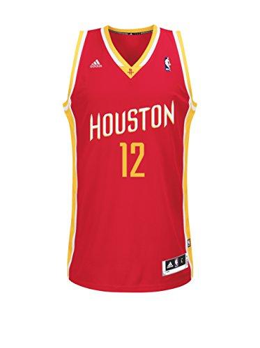 adidas Maglia Smanicata Houston Rockets Howard Rosso/Bianco/Giallo S