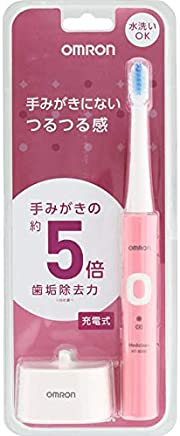 【6個セット】音波式電動歯ブラシ HT-B303-PK 充電式