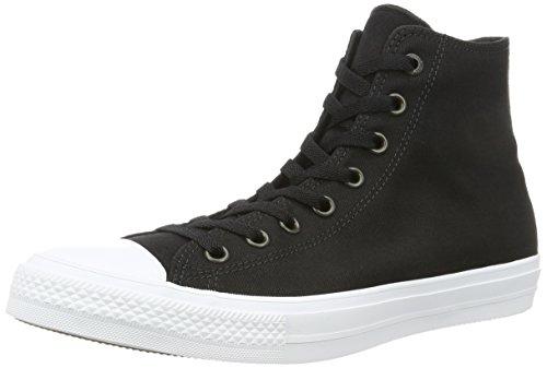 Converse 150143C, Sneaker a Collo Alto Uomo, Nero (Black/White/Navy), 44.5 EU