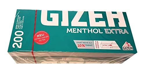 Gizeh Menthol EXTRA Filterhülsen 1000 (5 x 200)