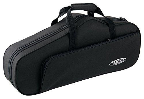 Classic Cantabile Leichtkoffer für Altsaxophon (Alt Saxophon Koffer, Lightcase, Softcase für Altsax, reiß- und wasserfestes Außengewebe, hochwertige Thermopolsterung, Außenmaße: 64 x 29 x 18 cm)