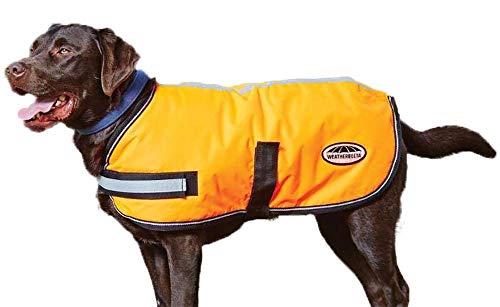 Weatherbeeta Cappotto per Cani Parka 300D Riflettente Arancione
