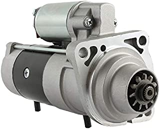DB Electrical SPR0010 Starter For Bobcat Skid Steer Loader S175 S185 S250 2002 2003 02 03 Kubota V2203EB Diesel, V3300DI Turbo Diesel /6676957, 6685190, DSL6676957 /TM000A28901 /12 Volt, CW