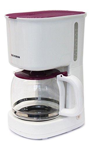Severin KA 4212.115 Kaffeeautomat 1000W lila weis, 10 Tassen