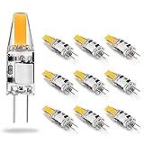 Eco.Luma Ampoule G4 LED 12V AC/DC, 2W Equivalent 10W 20W Halogène Lampe, COB LED Chip, 210LM, Blanc Chaud...