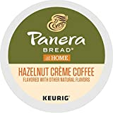 Panera Bread Hazelnut Crème, Single-Serve Keurig K-Cup Pods, Flavored Light Roast Coffee, 32 Count