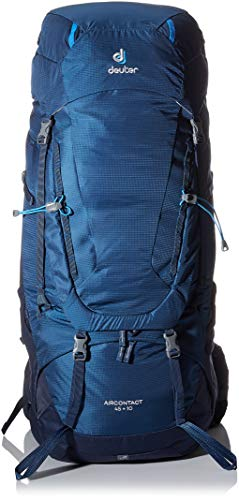 deuter aircontact 45 10 Mochila Tipo Casual 78 Centimeters 45 Azul