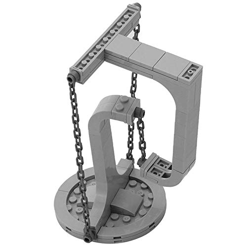 MOC Castle the Sky Castle Raumschiff Skulpturen Suspended Gravity Bausteine Dynamische Physik Balance Bricks Toys Kid C4269