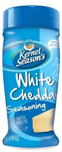 Sale!! White Chedder Kernel Season's Popcorn Seasoning Salt 4 Flavors 8.5-10.2oz. JUMBO CAN! Kernal