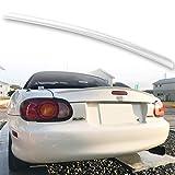 FYRALIP トランクスポイラー 純正色塗装済 マツダ MX-5 ロードスター NB 2代目 モデル用 外装 エアロ パーツ 両面テープ取付 カラーコード: 18G