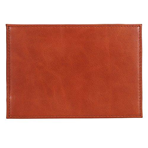 Lederhütte - Cartera para hombre , marrón (Marrón) - LH-wallet-a