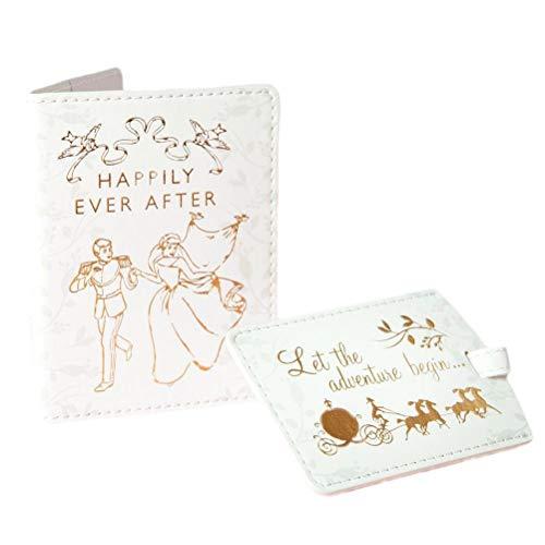 Disney Princess Cinderella Passport Holder and Luggage Tag Set