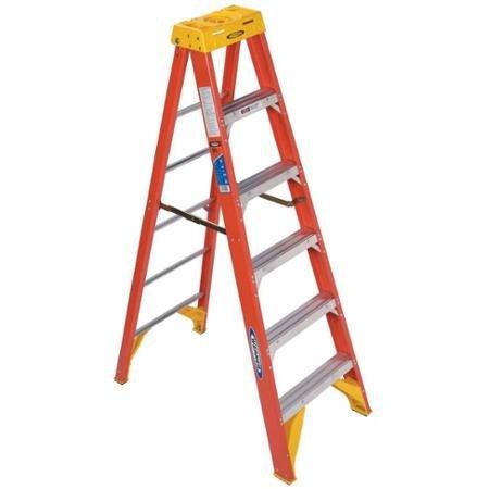 Werner 6206 6' Fiberglass Step Ladder