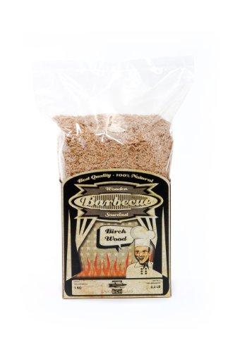 Axtschlag Räuchermehl Birke, 1000 g XXL Packung, zum Kalträuchern und Heißräuchern, für alle Grills und Räuchergeräte geeignet, 100% Reinholz