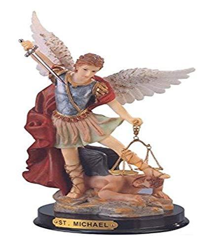 StealStreet ss-g-309.04San Miguel el Arcángel Santa Figura Religiosa decoración, 9