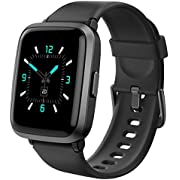 Smart Watch AIKELA Fitness Trackers With Blood Oxygen,Blood Pressure,Heart Rate,Sleep Monitor 5ATM Waterproof Activity Trackers Pedometer Sports Fitness Watches For Women Men For iOS Android(black)
