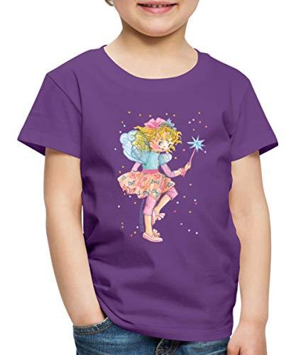 Prinzessin Lillifee mit Konfetti Kinder Premium T-Shirt, 110-116, Lila