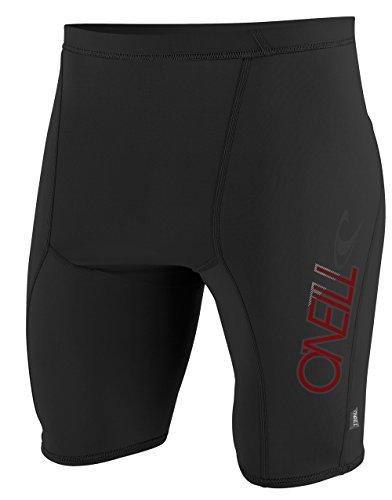 O'Neill Wetsuits Herren Uv Schutz skins shorts Rash Vest, Black, XL