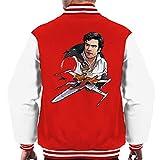 Star Wars PoE Dameron T 70 X Wing Men's Varsity Jacket