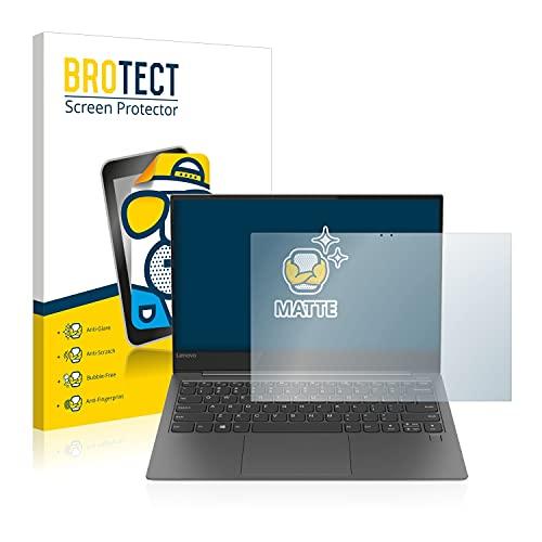 BROTECT Entspiegelungs-Schutzfolie kompatibel mit Lenovo Yoga S730-13IWL Bildschirmschutz-Folie Matt, Anti-Reflex, Anti-Fingerprint