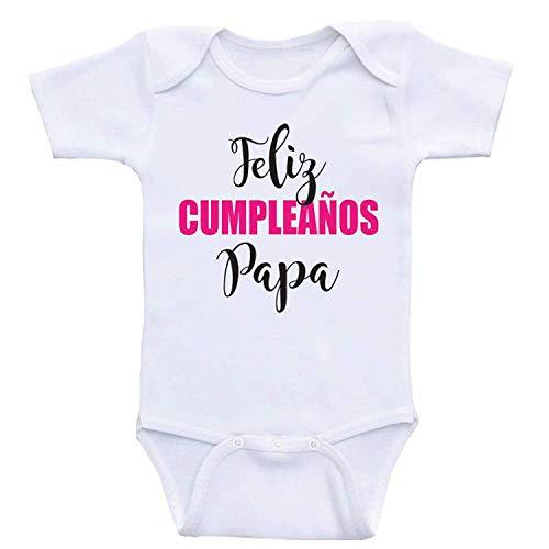 Body Feliz Cumpleaños Papá Septiembre- 2021 - Bebé Mimos / Ropa De Bebé