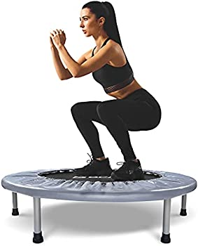 BCAN 38 Inch Exercise Rebounder Indoor Trampoline
