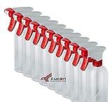 ÄUGEN GmbH | 10 Stk a 500ml Sprühflaschen | rundum verbesserte Sprühköpfe | leer | transparent | klar | Spray Bottle