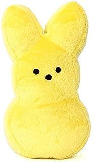 """Peeps 5"""" Bunny Plush Yellow"""