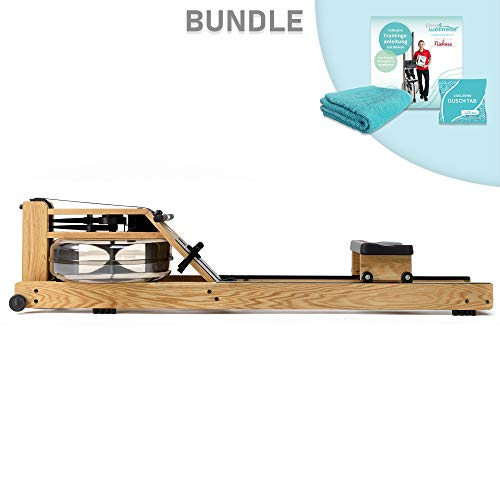 WaterRower Rudergerät Bundle Eiche/Esche/Nussbaum/Kirsche/Shadow/Club / A1 (Eiche)