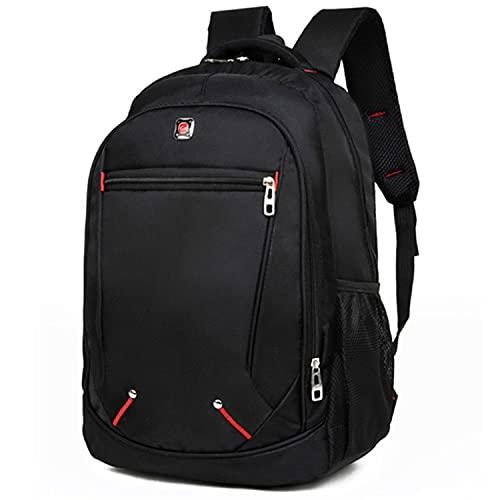 YYDSJFM Mochila para hombre, extra grande, 35 litros, mochila de viaje, una mochila diseñada para viajeros de negocios y escuelas, bolsa de hombro para hombre, bolsa multifuncional y simple
