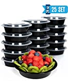 [25 Set] Meal Prep Containers with Lids Ideal-Lunch Containers, Food Prep Containers, Food Storage...