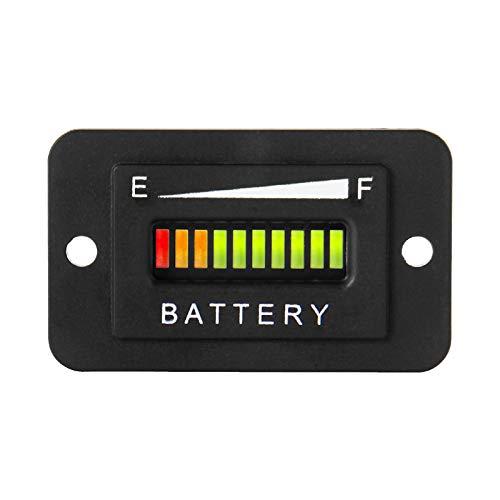 Runleader RL-BI003 12-24v batterie - anzeige indikator für dc - motor wie gabelstapler, golfwagen, boden auf ausrüstung und andere batteriebetriebene geräte.