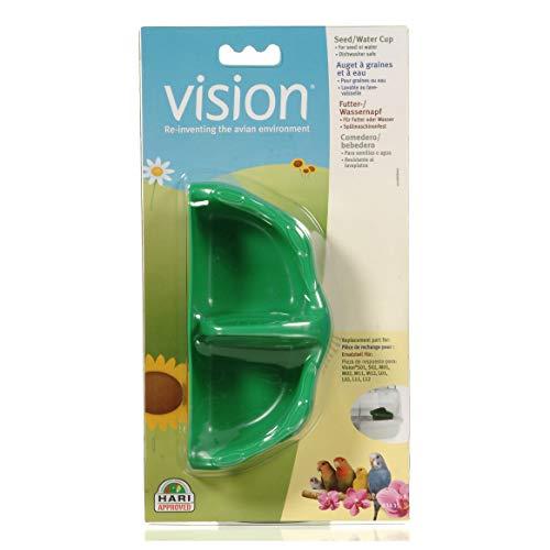 VisionTazas para Semilla y Agua, Color Verde