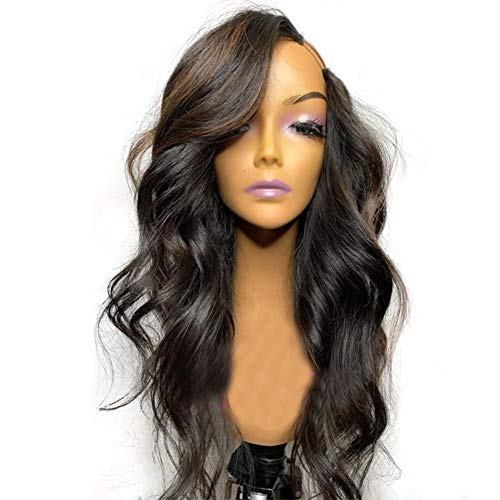 U Part Wig Human Hair Wigs for Black Women Left Side Part Loose Wave Wigs with Highlight Glueless Full Head Clip in Half Wig U Shape Wig by Beata Hair (12 Inch, Left Side U Part Wig)