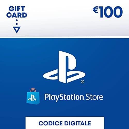 PlayStation Network PSN Card 100€ | Codice download per PSN - Account italiano - 100 EUR Edition |