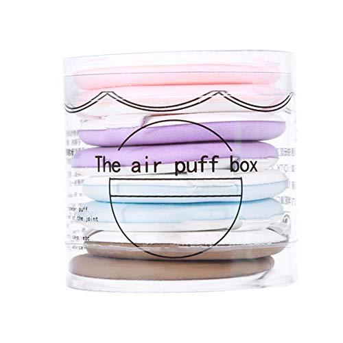 Ponacat Poudre de Maquillage de Couleurs Mélangées Fondations Faciales Bb Crème Cosmétiques Outil 8Pcs / Set