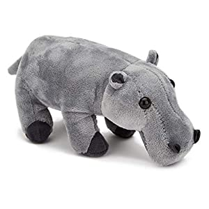 Zappi Co |Hipopotamo Peluche de Juguete del Juguete de Felpa para Niño. Jugar al Escondite Juguetes Gran niños y Adultos
