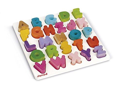 05566 Puzzle Alfabeto, Multicolor (J05566)