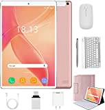 2 in 1 Tablets 10 Inch Android 9.0 with Keyboard Mouse, 4GB RAM+64GB ROM/128GB Upgrade Tablets, Dual SIM 4G, Quad Core,...