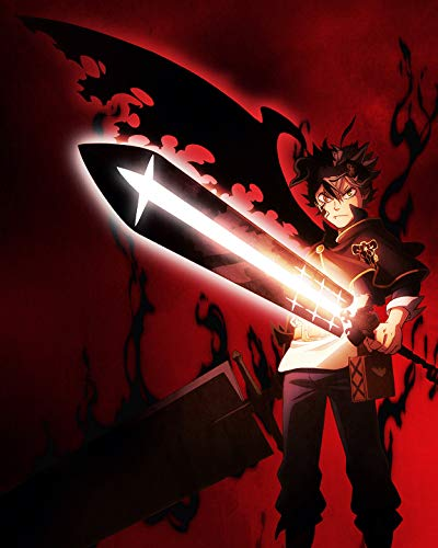 SUPERIOR POSTER Black Clover - Anime Manga Art Wall Print - TV Show Japanese High Quality - 16x20 Inches