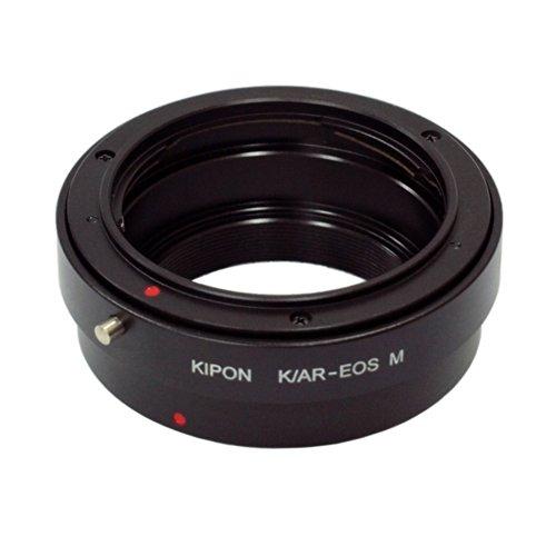KIPON マウント変換アダプター AR-EOS M コニカARマウントレンズ - キヤノンEOS Mマウントボディ用 014257 AR-EOS M