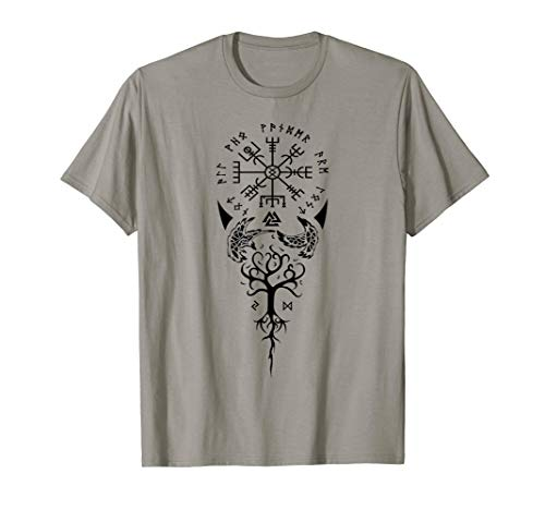 Viking Compass Protection Old Norse Warrior T-shirt