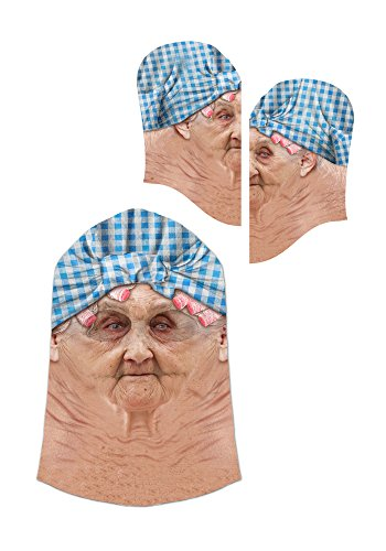 Old Lady Mask - One Size Fits Most
