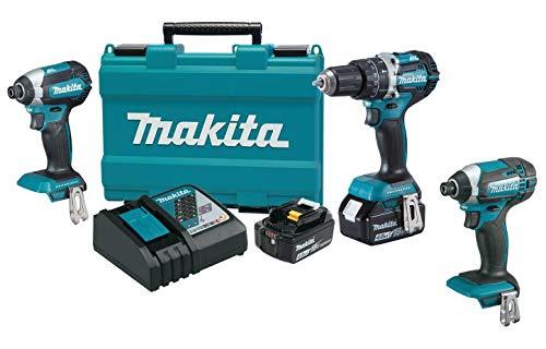 Buy Discount Makita XT269M 18V LXT Lithium-Ion Brushless Cordless 2-Pc. Combo Kit (4.0Ah) & Makita X...