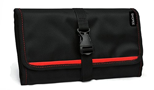 SHOPEE BRANDED Gadget Organizer Bag For All Gadgets, Power Bank, Cables, Usb Pen Drives, Mobile Phone Accessories Memory Cards, Simcards, DSLR Digital Camera Accessories Organiser / Universal Travel Bag Go Bag /Universal Travel Kit Organizer For Small Electronics And Accessories & Other Digital Devices