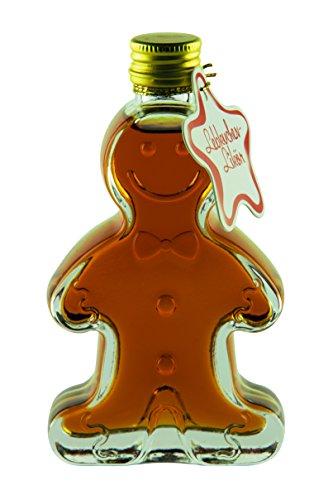 Weisenbach - flüssiger Lebkuchen - Glasflasche in Form eines Lebkuchen-Männchens - Lebkuchen-Likör 50ml