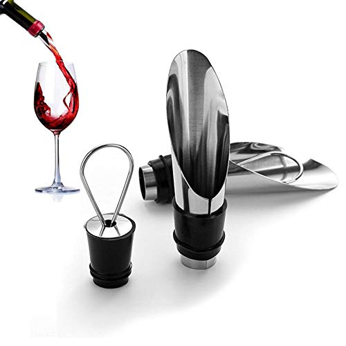 Stockpiler - Escanciador de vino con vertedor antigoteo - De
